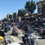 Video: Top Hatters Motorcycle Club's Flores catches up on 2017 Hollister rally