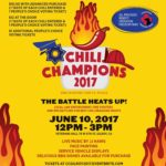 Police take on firefighters in chili cook-off for a cause