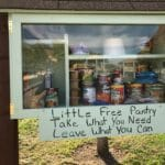 Little Free Pantry in park offers simple way to give back