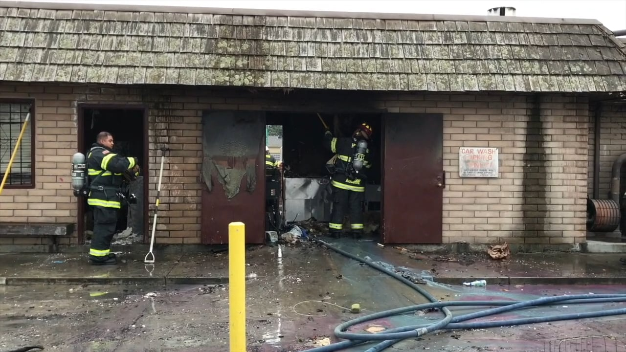 video  2017 fire destroys suds car wash in hollister