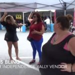 Video: Interview with $5 jewelry vendor at Hollister rally