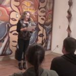 Video: Poet performs 'Chew' at Arts Council open mic