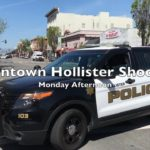 Video: Police respond to downtown Hollister shooting