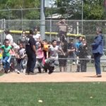 Video: Mad rush for eggs at VFW Easter hunt in Hollister