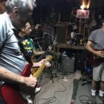 Passages: Huboi and the Architecturals rehearse for show in local barn