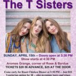 T Sisters set for return to Aromas