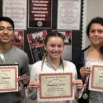 SBHS names Students of the Week