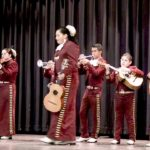 Video: Girl in mariachi group belts out solo at Hollister showcase