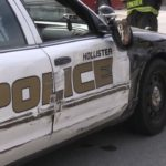 Updated: Hollister police car in minor accident