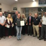 SBHS board recognizes student achievers