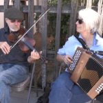 Video: Couple performs 'Old World' music at dedication