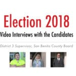 Election 2018: Video Interviews in District 3 Supervisor Race