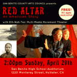 Arts Council presents 'Red Altar, an American Story'
