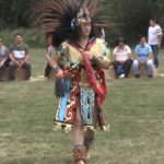 Video: Aztec dancers at California Indian Market