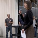 FoodBank CEO speaks at Open House
