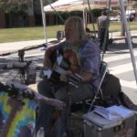 Music: Tim Moon performs at Farmers Market