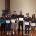 Rotary recognizes Students of the Month