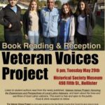 Students compile Veteran Voices book
