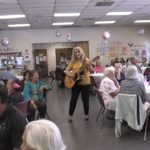 Video: Castañeda sings to seniors for Mother's Day