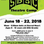Stage company theatre camp registration open