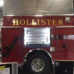 Hollister fire crews fight debris blaze at auto recycling center