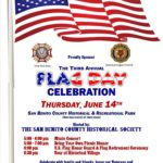 Flag Day Celebration scheduled at Historical Park