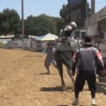Video: Bull riding finals at San Benito Rodeo