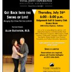 Seminar to focus on joint replacement