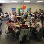 Photos: Senior center holds luau, recognizes volunteers