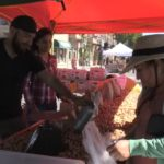 Market Merchants: Roasted garbanzos are a hit