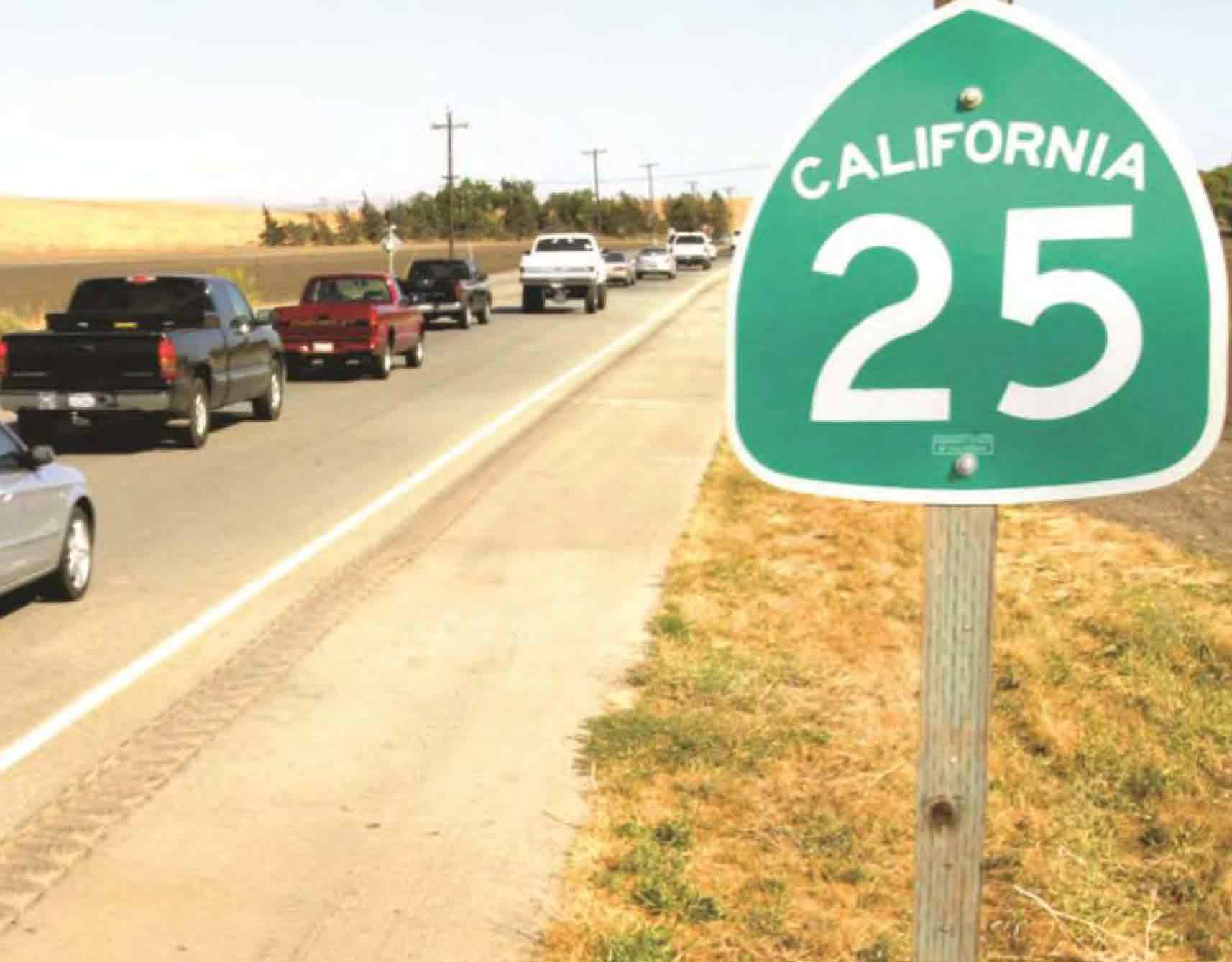 Hollister motorcycle rider killed in collision on Highway 25