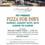 Pet lovers can enjoy 'Pizza for Paws' at annual fundraiser