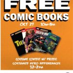 Bill's Bullpen giving away comics for Halloween ComicFest
