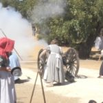 Video: Civil War reenactment halted after knife injury