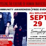 Locals invited to human trafficking awareness event