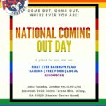 Gavilan to celebrate National Coming Out Day