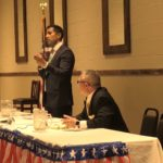 Video: Assembly candidates share backgrounds at forum