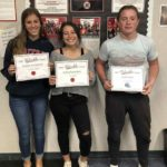 SBHS athletes of the week from cheer, football