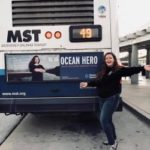 Local oceans advocate featured on buses, honored by Girl Scouts