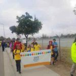 Local students promote safety with 'Walk to School Day'