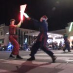 Video: Martial arts group battles in Lights On Parade