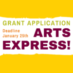 Arts Express grant applications due in January