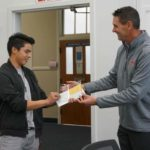 Student honored for successes after transition from Guatemala