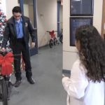 Video: Police department gives back, one bike at a time