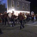 Video: SBHS band performs at Holiday of Lights Parade