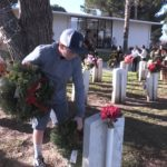 Video: Locals lay wreaths to honor veterans