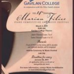 Registration open for Gavilan piano competition, music fest