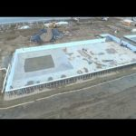Video: Drone views of SBHS facilities under construction