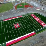 Video: Overhead view of new football field at SBHS