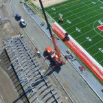 Video: Progress on SBHS stadium, science building